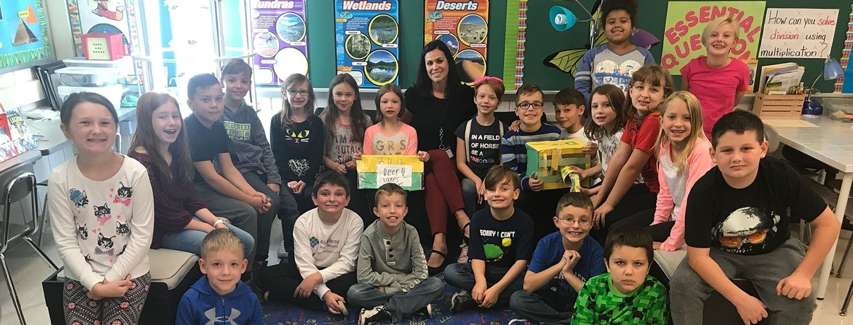 East Union third graders win $2,000 Matt's Maker Space Grant