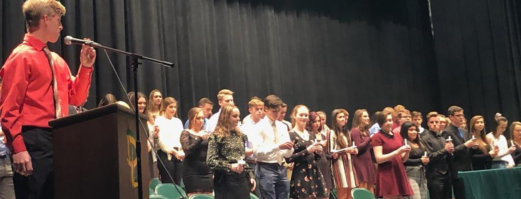 Forty-nine Deer Lakes High School students inducted into National Honor Society