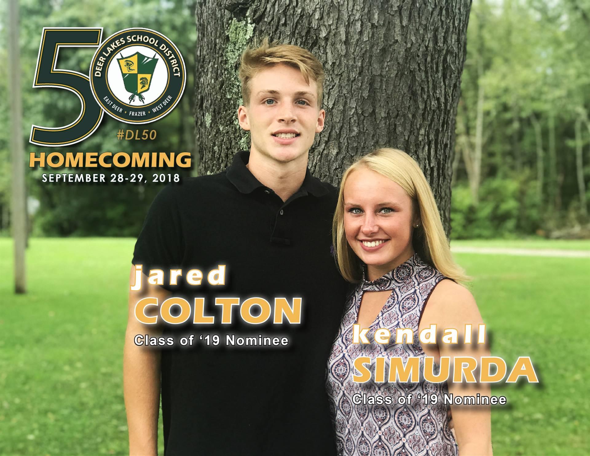Homecoming 2018 Court Photos