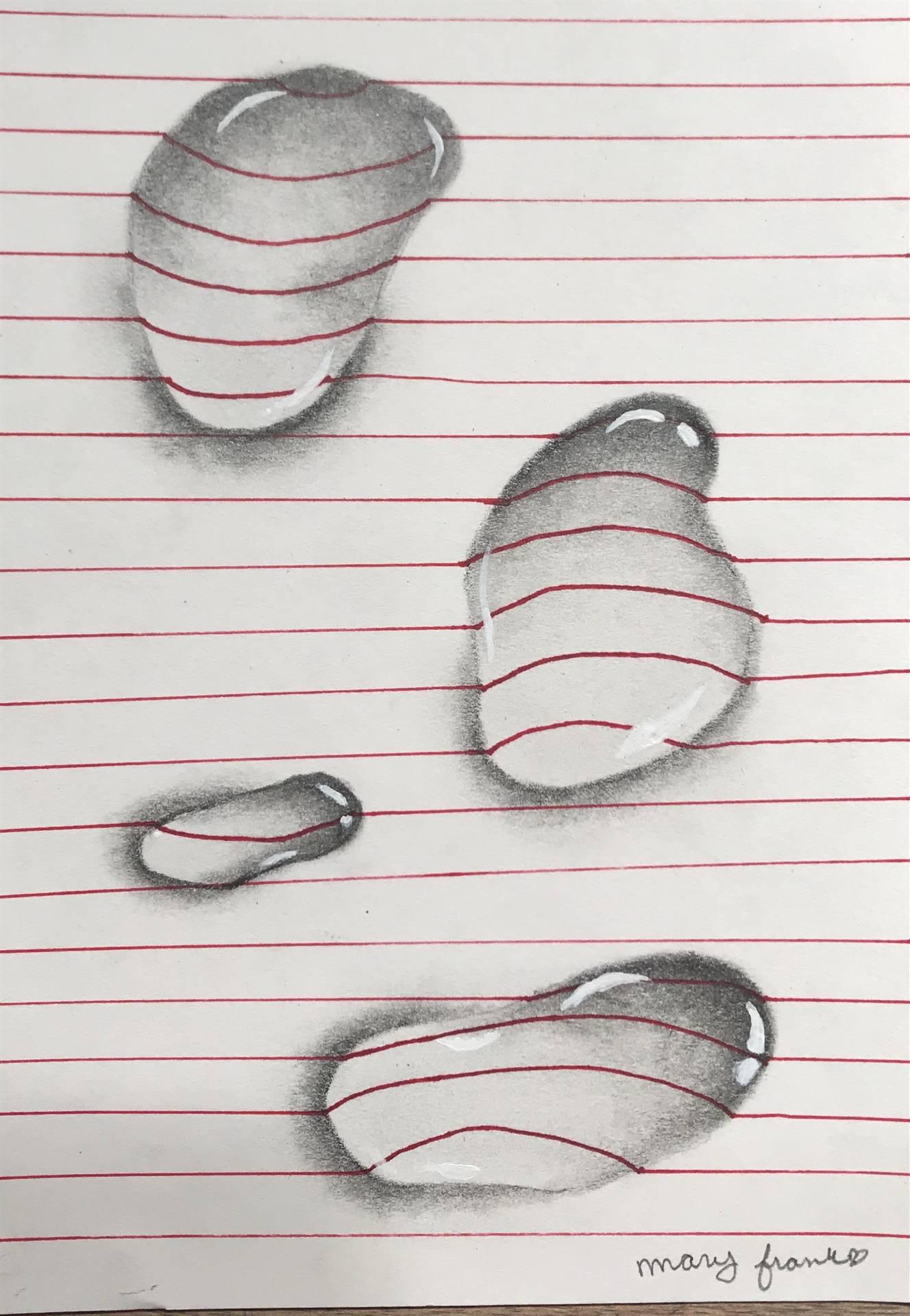 Water Drop Illusion Drawing