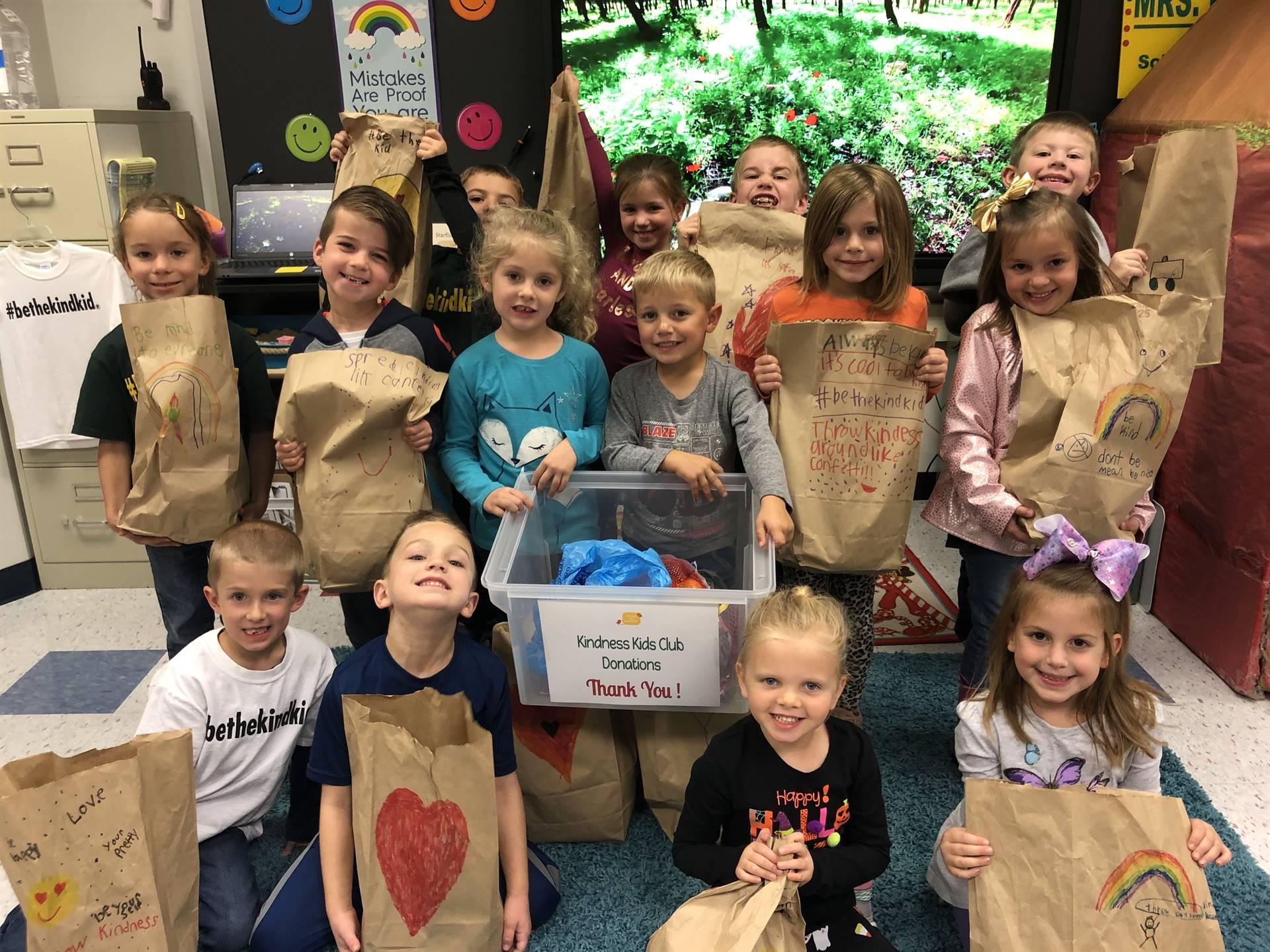 kindergarten kindness kids