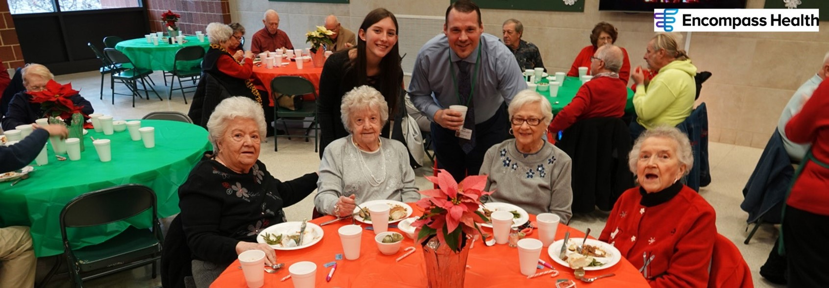 Student Council to host FREE annual senior citizens holiday luncheon, Dec. 18