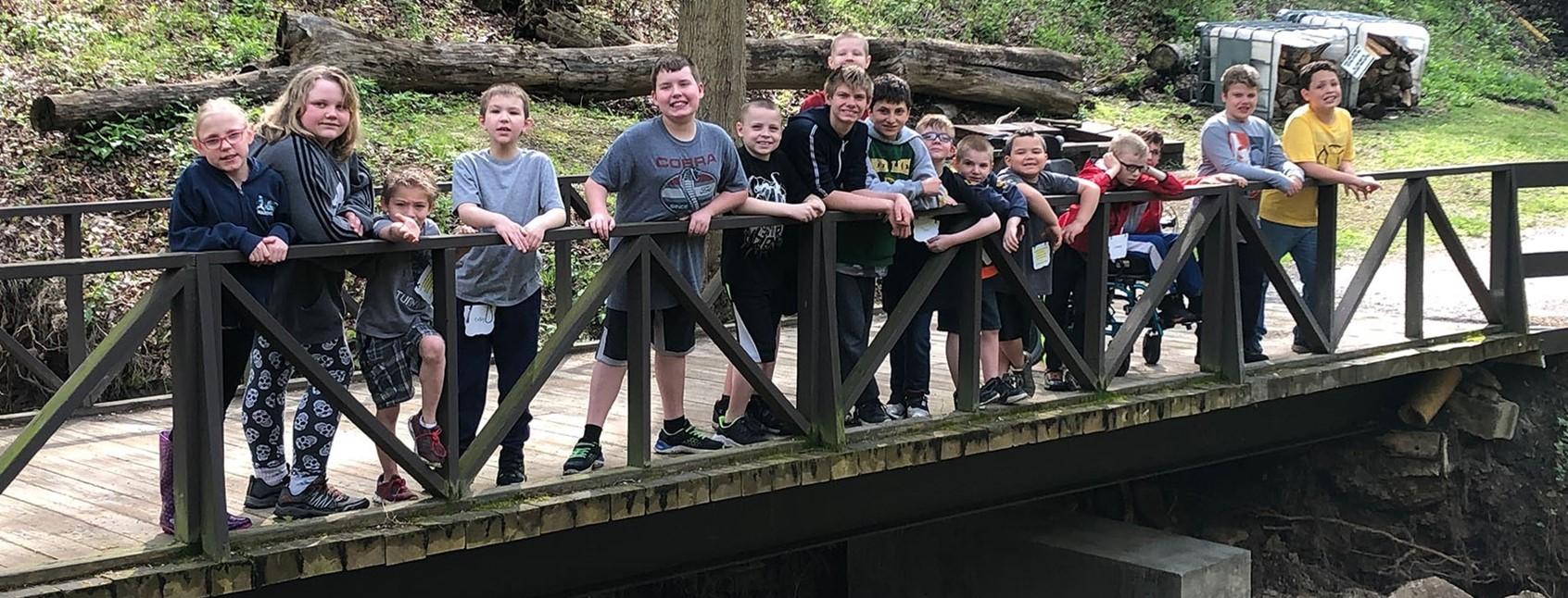 Deer Lakes students experience Camp Guyasuta