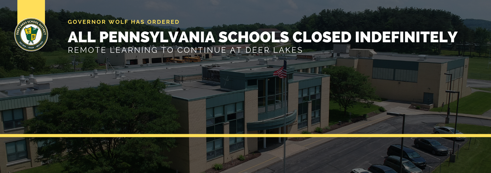 PA Extends COVID-19 Related School, Business Closures Indefinitely