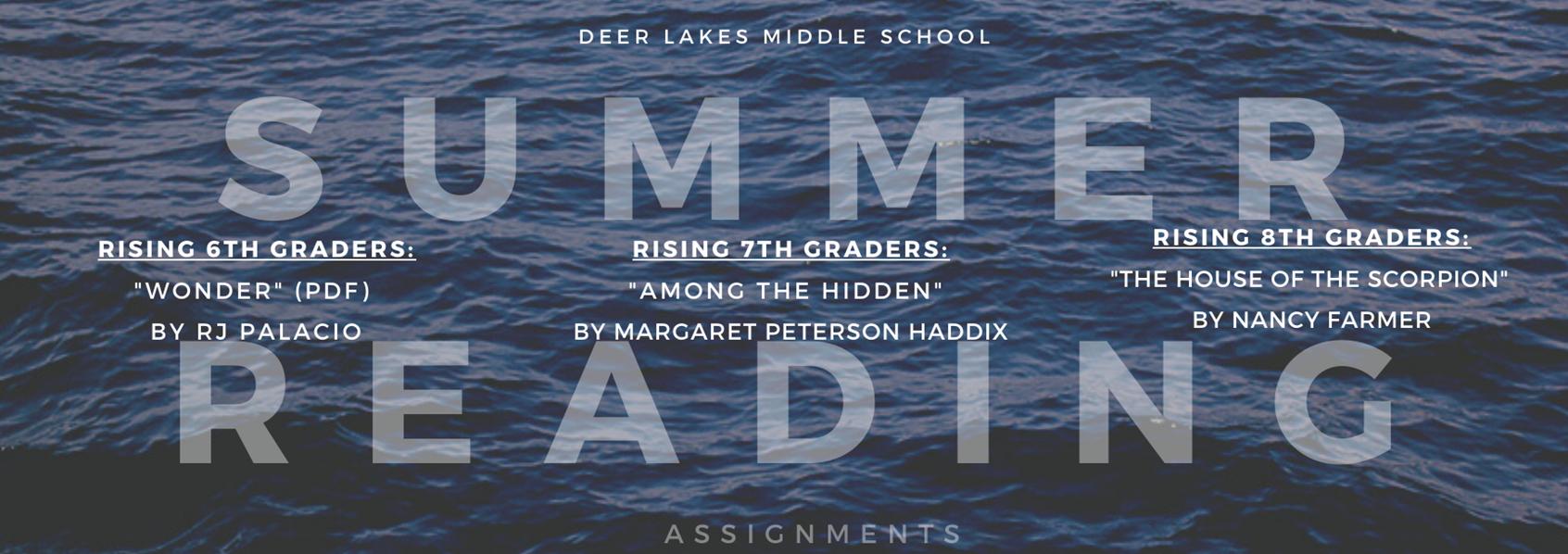 DLMS Summer Reading 2020-21