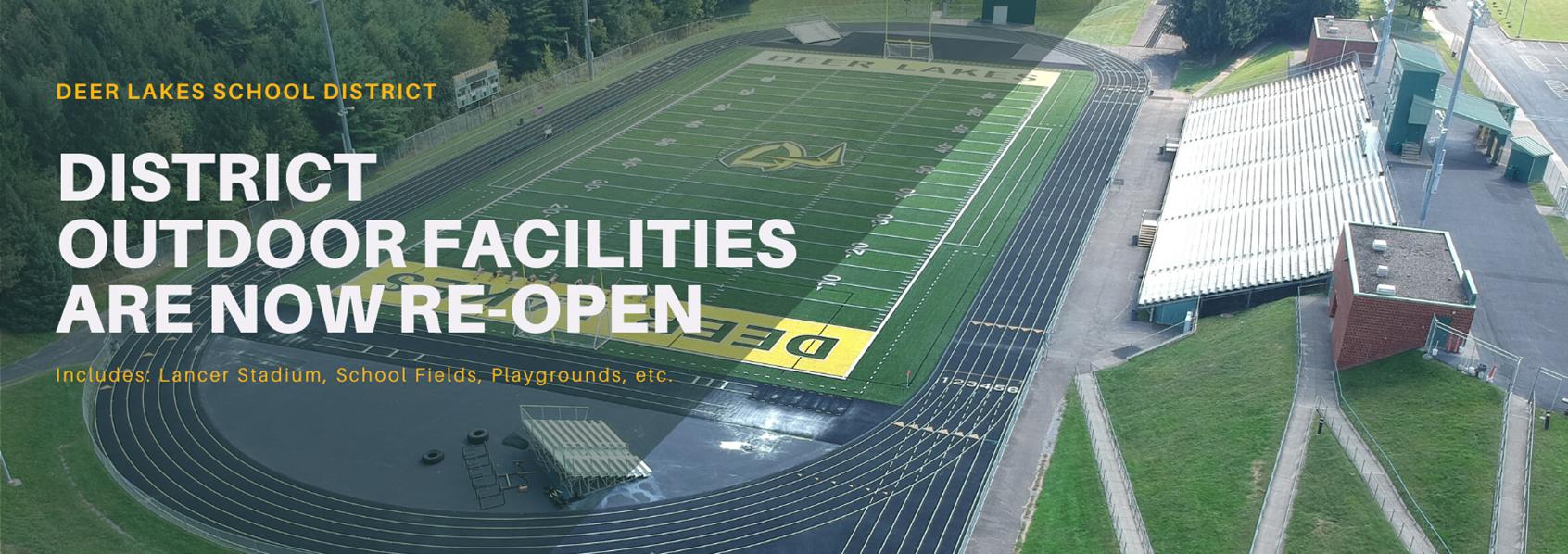 Facilities Re-Open