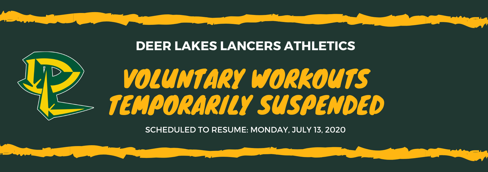 Voluntary Workouts Suspended