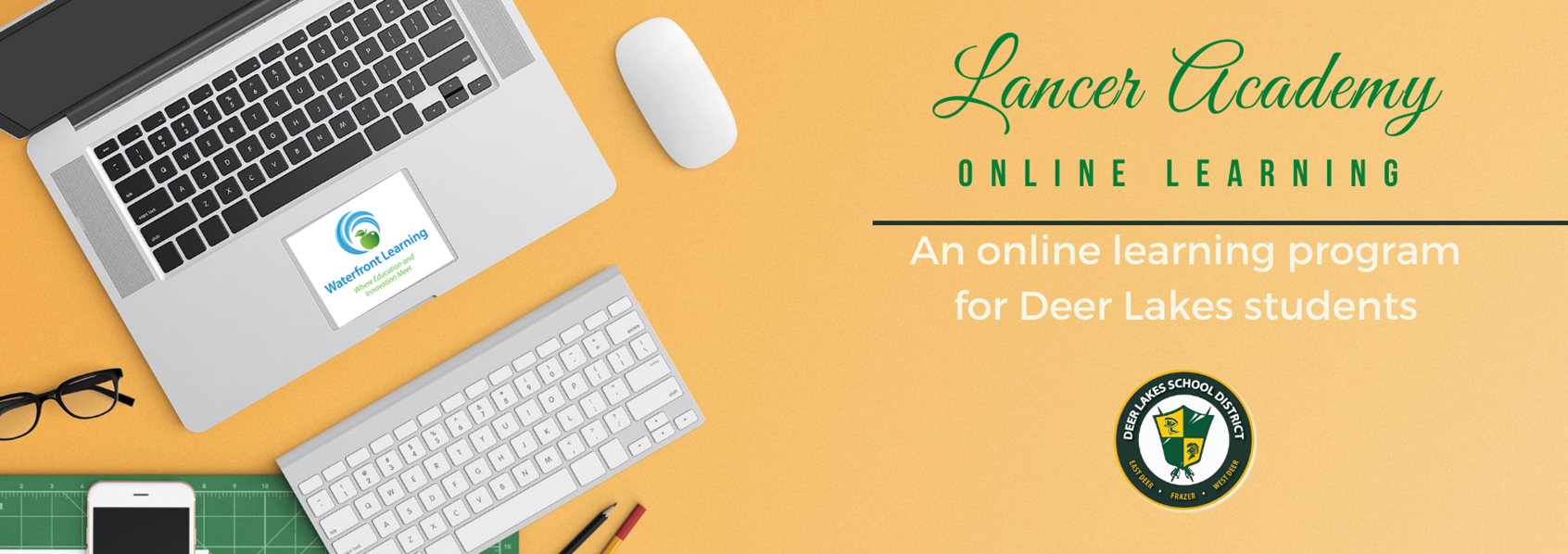 Lancer Academy - An online learning program for Deer Lakes students