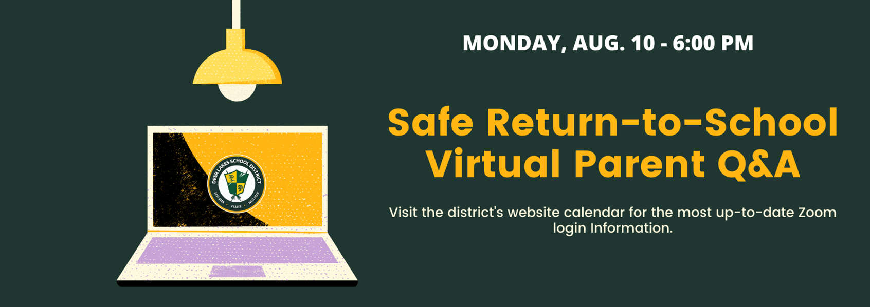 Healthy & Safe Return-to-Schools Virtual Student and Parent Q&A